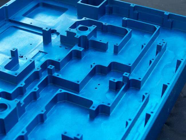 Machined chassis for telecommunications industry