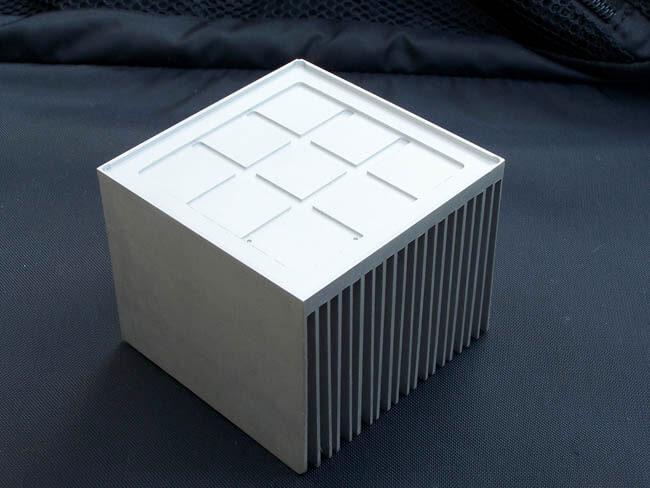 Heatsink machined from solid