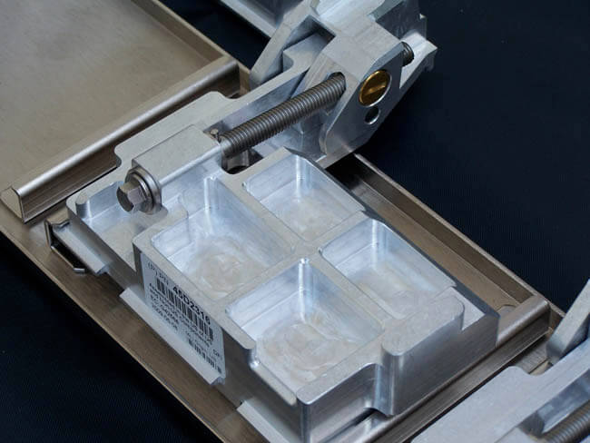 Assembly includes precision sheet metal and CNC machining