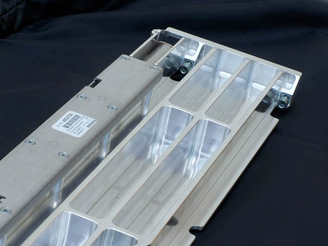 Assembly utilizes precision sheet metal and CNC machining