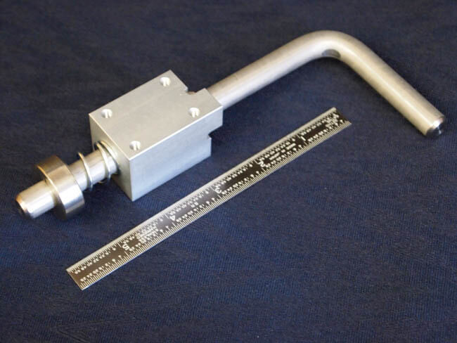 Formed metal rod creates indexing latch